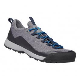 Кроссовки мужские Black Diamond Mission Lt M'S - Approach Shoes | Nickel/Ultra Blue | Вид 1