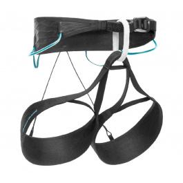 Страховочная система Black Diamond Airnet Harness - Women'S | Black/Aqua Verde | Вид 1