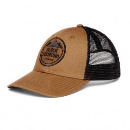 Кепка Black Diamond LOW PROFILE TRUCKER HAT | Dark Curry/Black | Вид 1