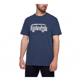 Футболка мужская Black Diamond M VANTASTIC TEE | Ink Blue | Вид 1