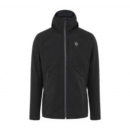 Куртка мужская Black Diamond M ELEMENT HOODY | Black | Вид 1