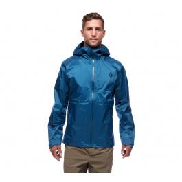 Куртка мужская Black Diamond M'S TREELINE RAIN SHELL | Astral Blue | Вид 1