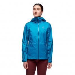 Куртка женская Black Diamond WM'S TREELINE RAIN SHELL | Azul | Вид 1