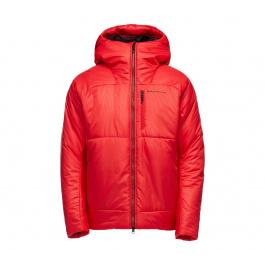 Куртка мужская Black Diamond M BELAY PARKA   Hyper Red   Вид 1