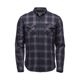 Рубашка мужская Black Diamond M LS BENCHMARK SHIRT | Black/Anthracite/Carbon | Вид 1