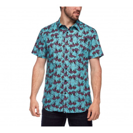 Рубашка мужская Black Diamond M SS SOLUTION SHIRT | Gear Print | Вид 1