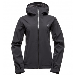Куртка женская Black Diamond W Stormline Stretch Rain Shell | Black | Вид 1