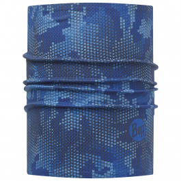 Подшлемник Buff Helmet Liner Pro | Binary Royal Blue | Вид 1