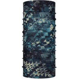 Бандана BUFF CoolNet UV+ with InsectShield Neckwear   Laertes Stone Blue   Вид 1