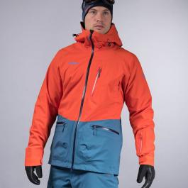 Куртка мужская Bergans Myrkdalen Ins Jacket | Lava/Navy | Вид 1