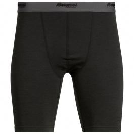 Термобелье мужское Bergans Akeleie Boxer | Black | Вид спереди