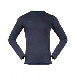 Термобелье мужское Bergans Akeleie Shirt   Dark Fogblue/Fogblue   Вид 1
