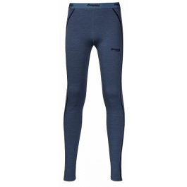Термобелье детское Bergans Akeleie Youth Tights | Fogblue/Dark Navy | Вид 1