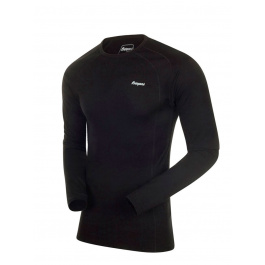 Термобелье мужское Bergans Fjellrapp Shirt | Black | Вид 1