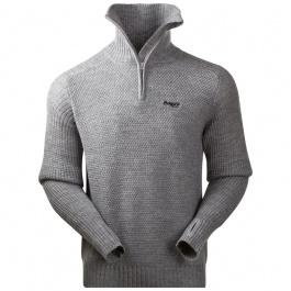 Пуловер мужской Bergans Ulriken Jumper | Grey Melange | Вид 1