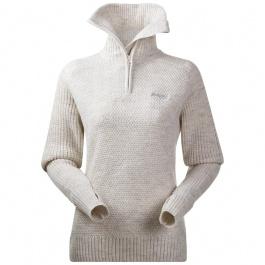 Пуловер женский Bergans Ulriken Lady Jumper | White Melange | Вид 1