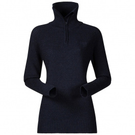Пуловер женский Bergans Ulriken Lady Jumper | Dark Blue Melange | Вид 1