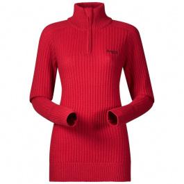 Пуловер женский Bergans Minde Lady Jumper | Red Melange | Вид 1