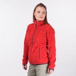 Куртка женская Bergans Hareid Fleece W Jacket NoHood | Solid Dark Grey | Вид 1