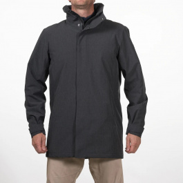 Куртка мужская Bergans Oslo 2L Ins Jacket | Solid Charcoal Melange | Вид 1