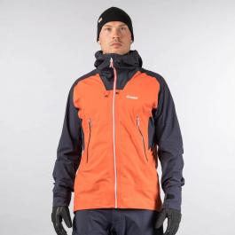 Куртка Bergans Slingsby 3L Jacket | Lava/Dark Navy/Silver Grey | Вид спереди