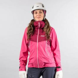 Куртка женская Bergans Slingsby 3L W Jacket | Raspberry/Beet Red/Silver Grey | Вид 1
