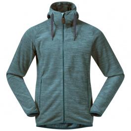 Куртка из флиса Bergans Hareid Fleece Jacket | Forest Frost Mel | Вид 1
