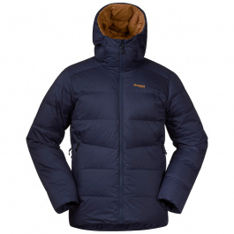 Куртка мужская Bergans Røros Down Jkt | Navy/Inca Gold | Вид 1