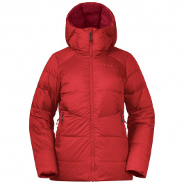 Куртка женская Bergans Røros Down W Jkt | Red Sand/Red | Вид 1