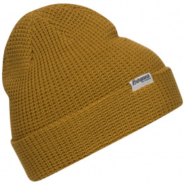 Шапка мужская Bergans Waffle Knit Beanie | Mustard Yellow | Вид 1