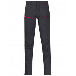 Брюки детские Bergans Utne Youth Girl Pants | Solid Charcoal/Jam/Dark Sorbet | Вид спереди