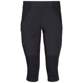 Брюки женские Bergans Fløyen 3/4 W Pants | Black/Solid Charcoal | Вид спереди