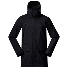 Куртка Bergans Breheimen 2L Jacket | Black/Solid Charcoal | Вид cпереди