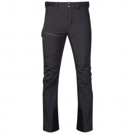 Брюки Bergans Breheimen Softshell Pants | Solid Charcoal/Solid Dark Grey | Вид cпереди