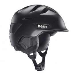 Горнолыжный шлем Bern Kingston Zipmold | Matte Black | Вид 1