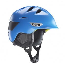 Горнолыжный шлем Bern Kingston Zipmold | Satin Cyan Blue | Вид 1