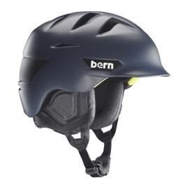 Горнолыжный шлем Bern Rollins Zipmold | Matte Navy Blue | Вид 1