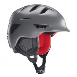 Горнолыжный шлем Bern Rollins Zipmold | Satin Grey | Вид 1