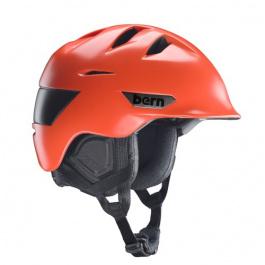 Горнолыжный шлем Bern Rollins Zipmold | Satin Orange | Вид 1