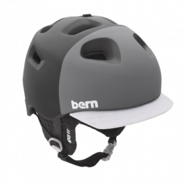 Горнолыжный шлем Bern G2 Zipmold | Matte Black Hatstyle | Вид 1