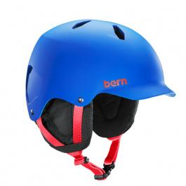 Горнолыжный шлем подростковый Bern Bandito EPS | Matte Cobalt Blue | Вид 1