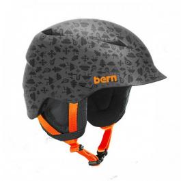 Горнолыжный шлем детский Bern Camino | Grey Feature Creature | Вид 1