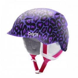 Горнолыжный шлем детский Bern Camina | Satin Purple Leopard | Вид 1