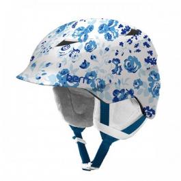 Горнолыжный шлем детский Bern Camina | Satin White Floral | Вид 1