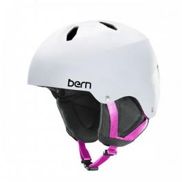 Горнолыжный шлем подростковый Bern Diabla | Satin White | Вид 1