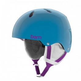 Горнолыжный шлем подростковый Bern Diabla | Translucent Light Blue | Вид 1