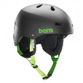 Шлем Bern Team Macon | Matte Black | Вид 1