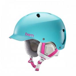 Горнолыжный шлем женский Bern Lenox | Satin Aqua | Вид 1
