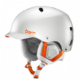 Горнолыжный шлем женский Bern Lenox | Satin Delphin Grey | Вид 1