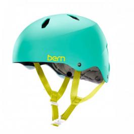 Велошлем подростковый Bern Bike Diabla EPS | Satin Turquoise Green | Вид 1